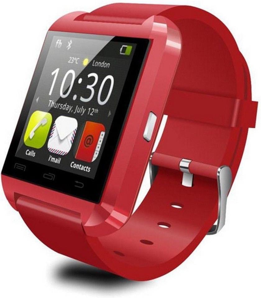 Smart hodinky U8 Red