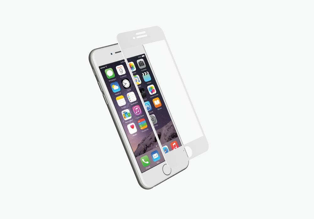 CYGNETT 3D tvrzené sklo pro Apple iPhone 7 white