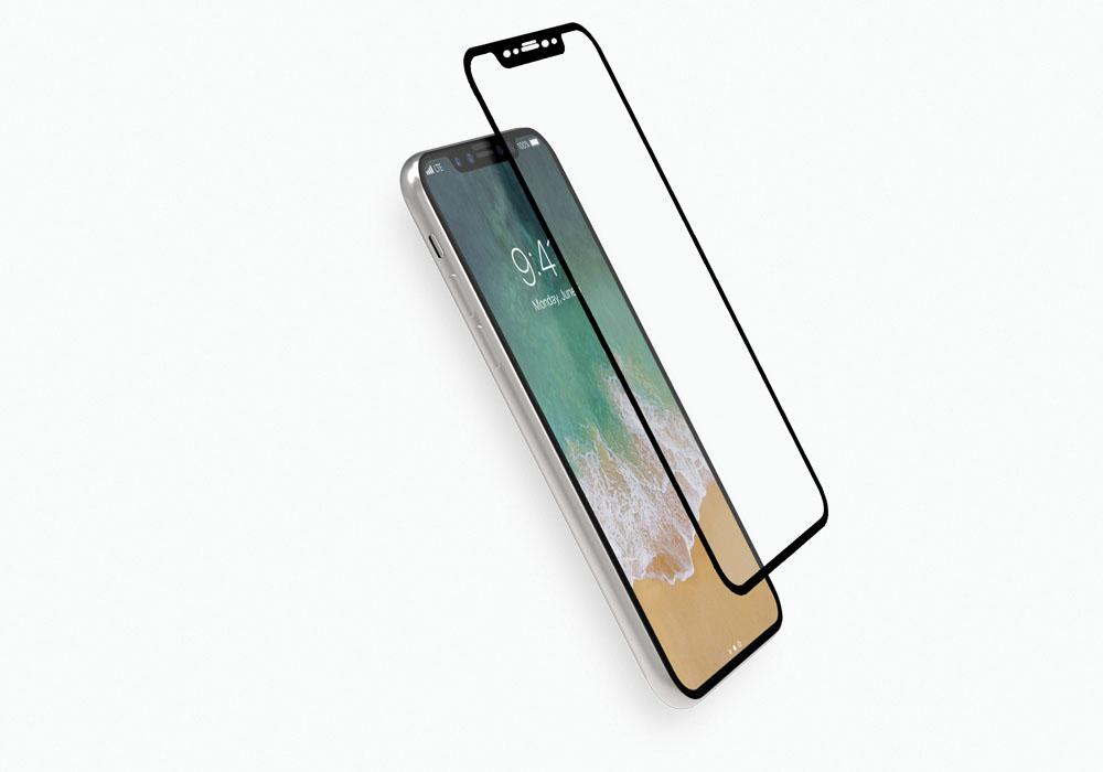 CYGNETT 3D tvrzené sklo pro Apple iPhone X