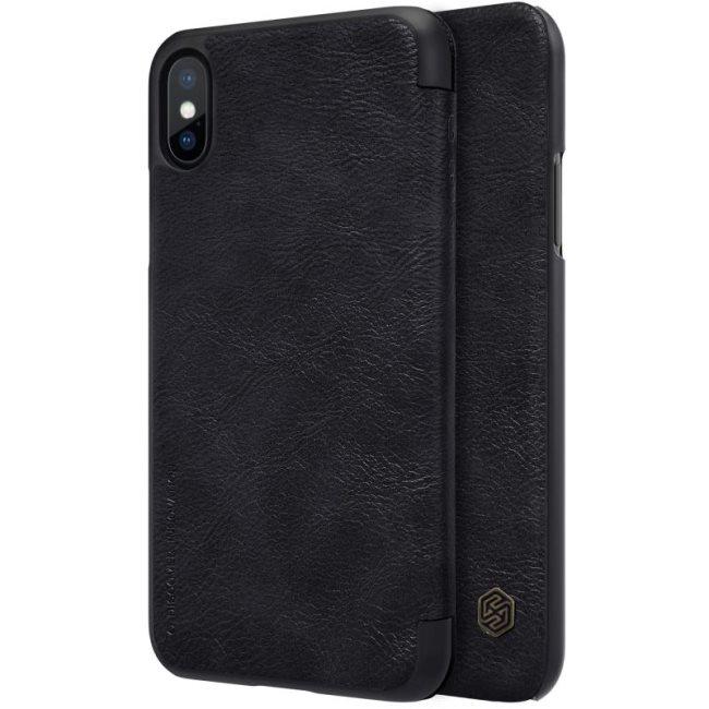 Nillkin Qin Book flipové pouzdro Apple iPhone X black