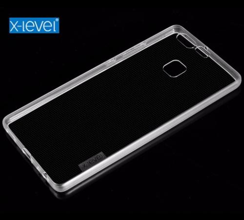 Zadní kryt XLEVEL Antislip pro Huawei Y6 2017, transparent