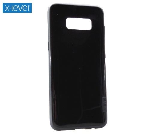 Zadní kryt XLEVEL Antislip pro Samsung Galaxy S7 edge černá