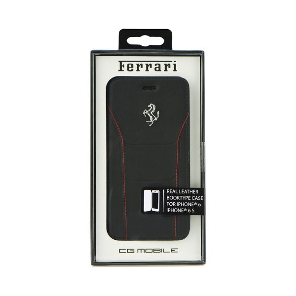 "FERRARI 488 FESEFLBKP6BKR pouzdro flip Apple iPhone 6 4.7"" black"