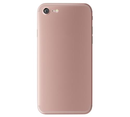 Zadní kryt 3mk NaturalCase Apple iPhone 7, transparent rose-gold