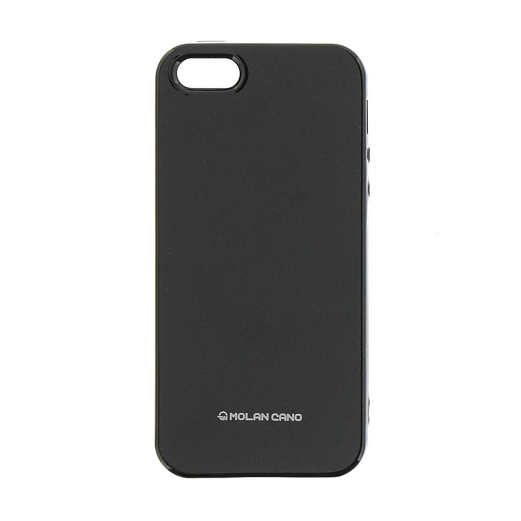 Molan Cano Jelly kryt pro Apple iPhone 5/5S/SE black