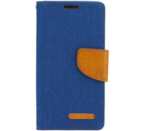 Canvas Diary flipové pouzdro Sony Xperia T3 blue