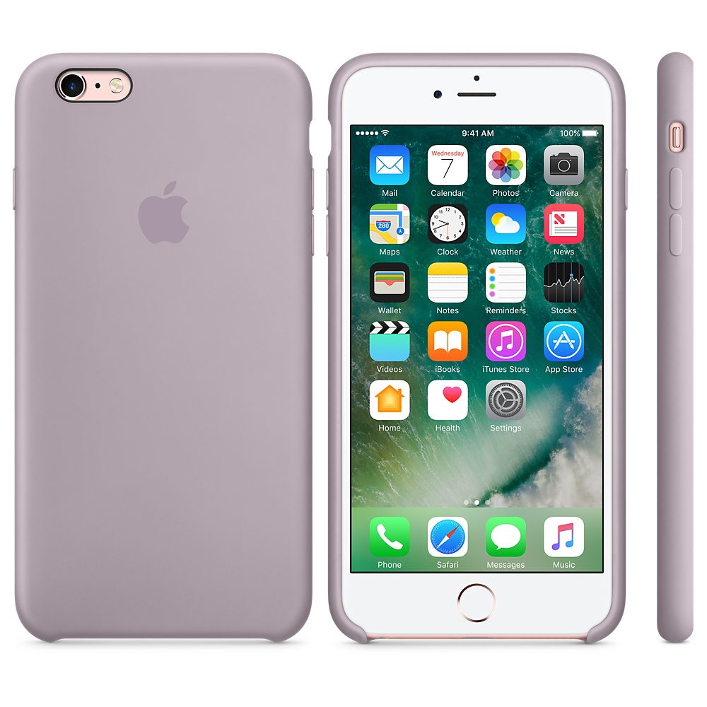 Originální kryt Apple pro iPhone 6 6S levandulové - TPU e86248b435a
