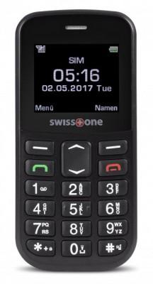 Mobilní telefon Swisstone BBM 516 Black