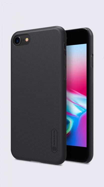 Nillkin Super Frosted Zadní Kryt pro Apple iPhone 8 Black