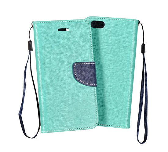 Fancy Diary flipové pouzdro Honor 7 mint/navy