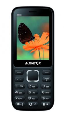 Mobilní telefon Aligator D930 Dual sim Black / Silver