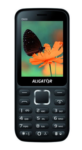 Aligator D930 Dual sim Black / Silver
