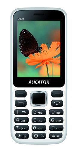 Aligator D930 Dual sim White / Black