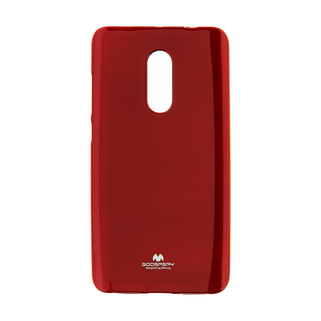 Mercury Jelly Case pro Xiaomi Redmi Note 4 Global Red