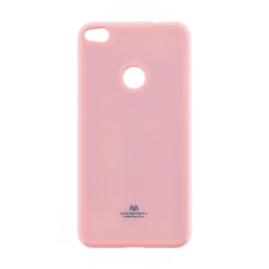 Pouzdro Mercury Jelly Case pro Huawei P8/P9 Lite 2017 růžové
