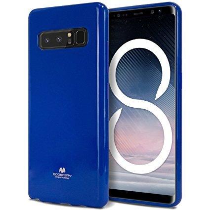 Pouzdro Mercury Jelly Case pro Samsung Galaxy Note 8 modré