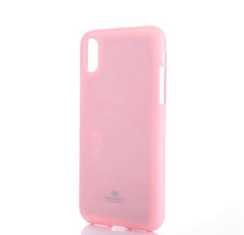 Pouzdro Mercury Jelly Case pro Apple iPhone X růžové