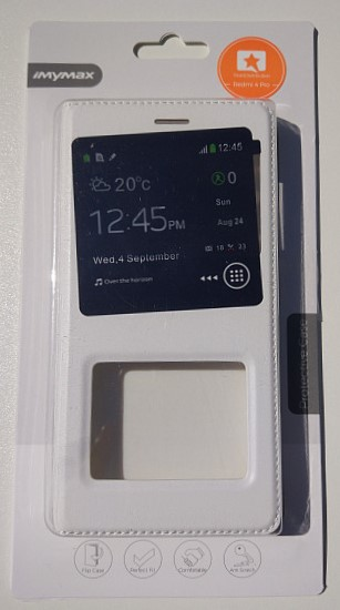 iMYMAX pouzdro flip Xiaomi Redmi 4 white