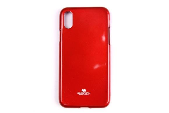 Pouzdro Mercury Jelly Case pro Apple iPhone X Red