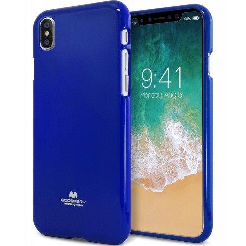 Pouzdro Mercury Jelly Case pro Apple iPhone X modré