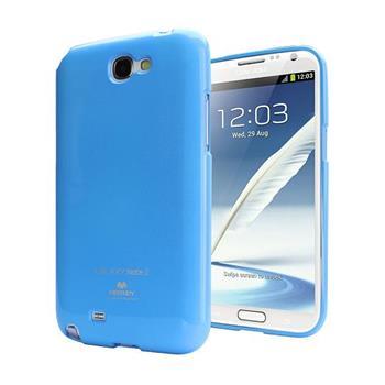 Pouzdro Mercury Jelly Case pro Samsung Galaxy SIII Mini azurové