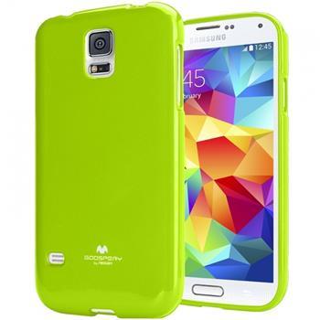 Pouzdro Mercury Jelly Case pro Samsung Galaxy J1 limetkové