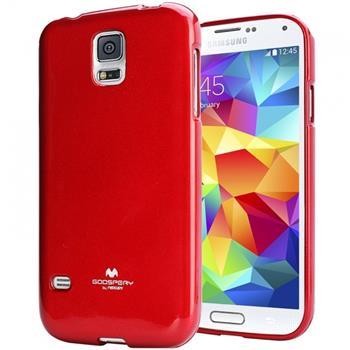 Pouzdro Mercury Jelly Case pro Samsung Galaxy J1 červené