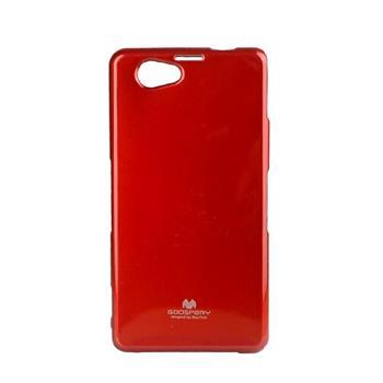 Pouzdro Mercury Jelly Case pro Sony Xperia Z1 Compact/mini ČERVENÉ