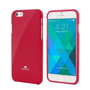Pouzdro Mercury Jelly Case pro Apple iPhone 6/6S červené