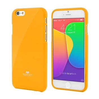 Pouzdro Mercury Jelly Case pro Apple iPhone 6/6S žluté