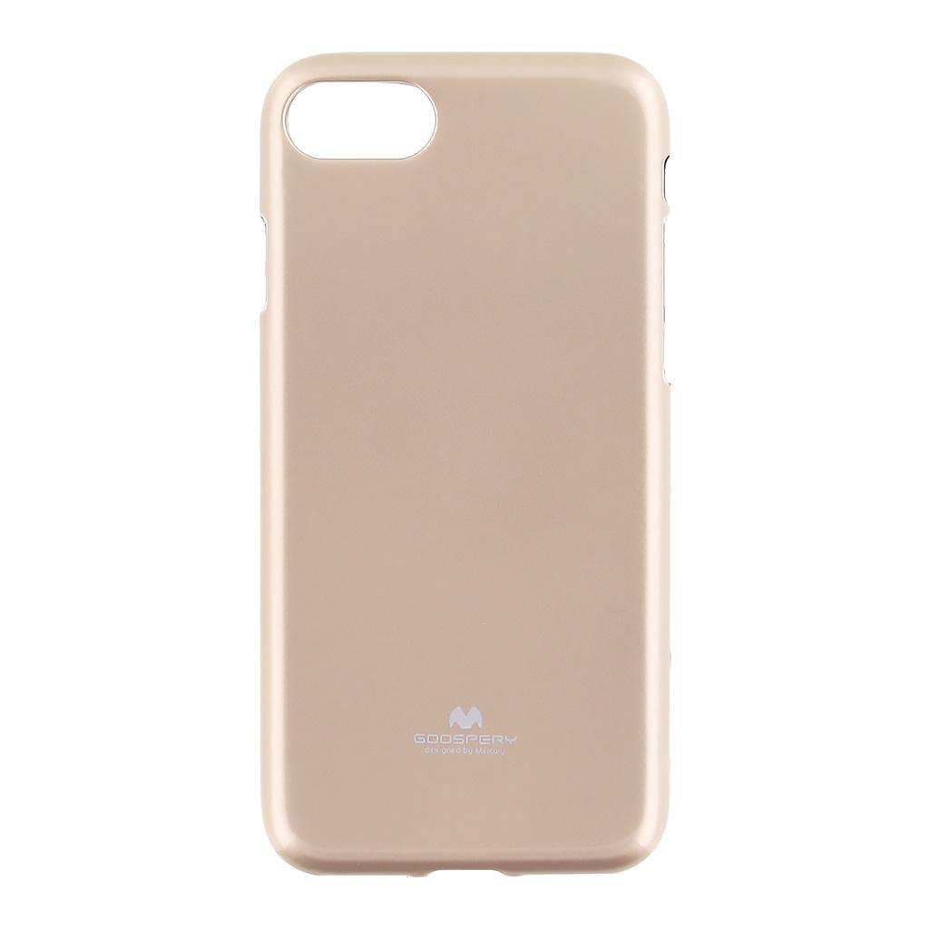Pouzdro Mercury Jelly Case pro Apple iPhone 7 zlaté