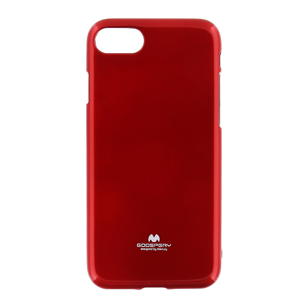 Pouzdro Mercury Jelly Case pro Apple iPhone 7 červené
