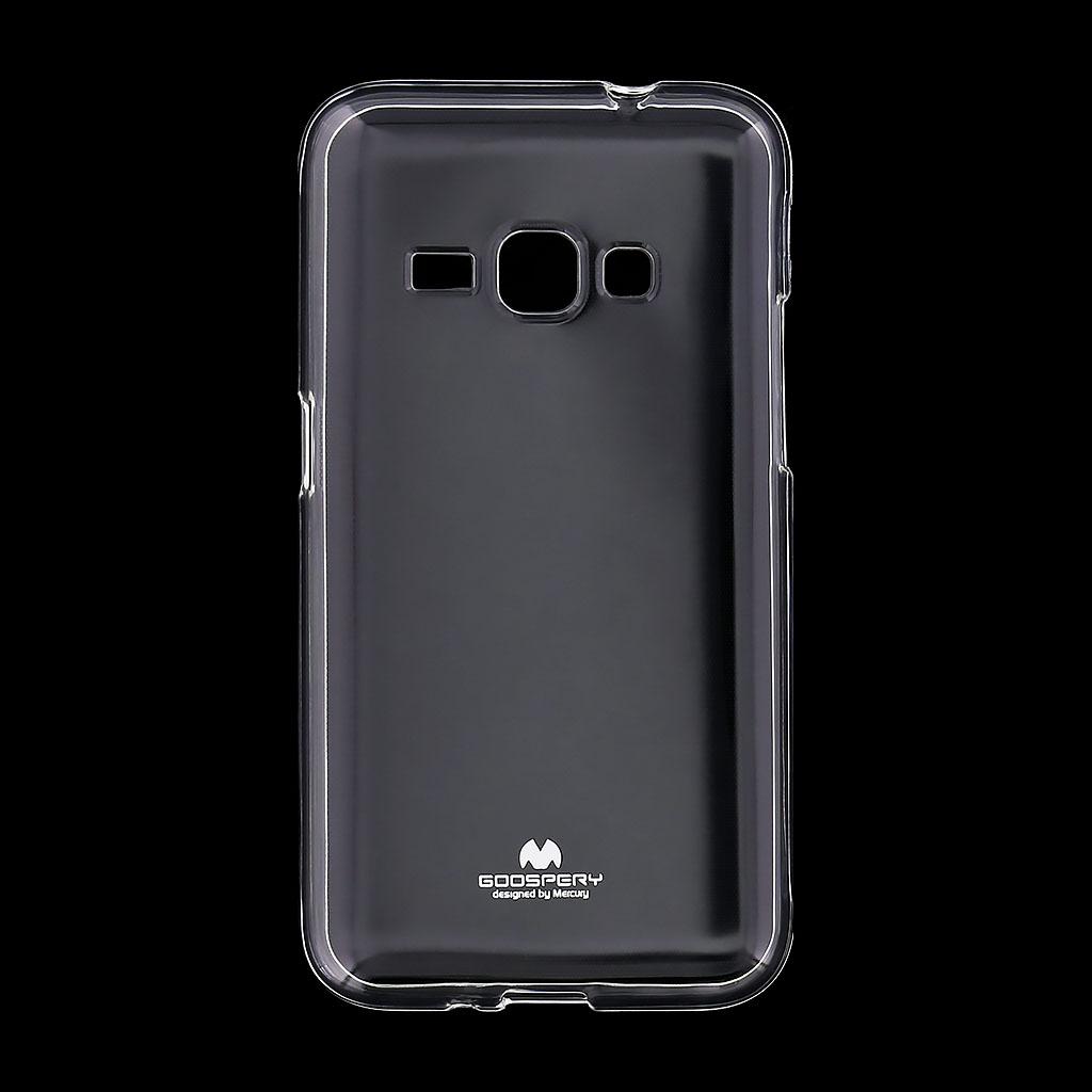 Pouzdro Mercury Jelly Case pro Samsung Galaxy J1 čiré