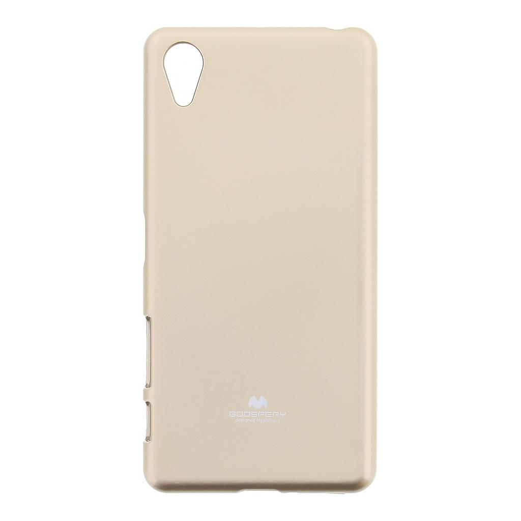 Pouzdro Mercury Jelly Case pro Sony Xperia X Performance zlaté