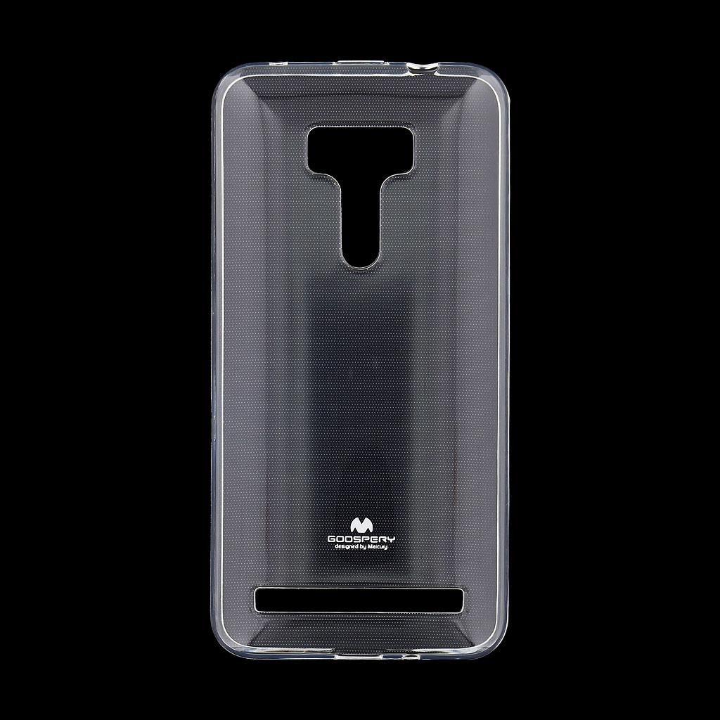 Pouzdro Mercury Jelly Case pro Asus ZC550KL Zenfone Max čiré