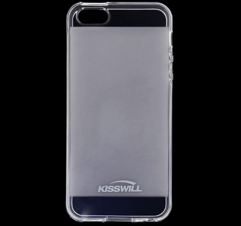 Kryt ochranný Kisswill pro Apple iPhone 5, 5S, SE, transparent