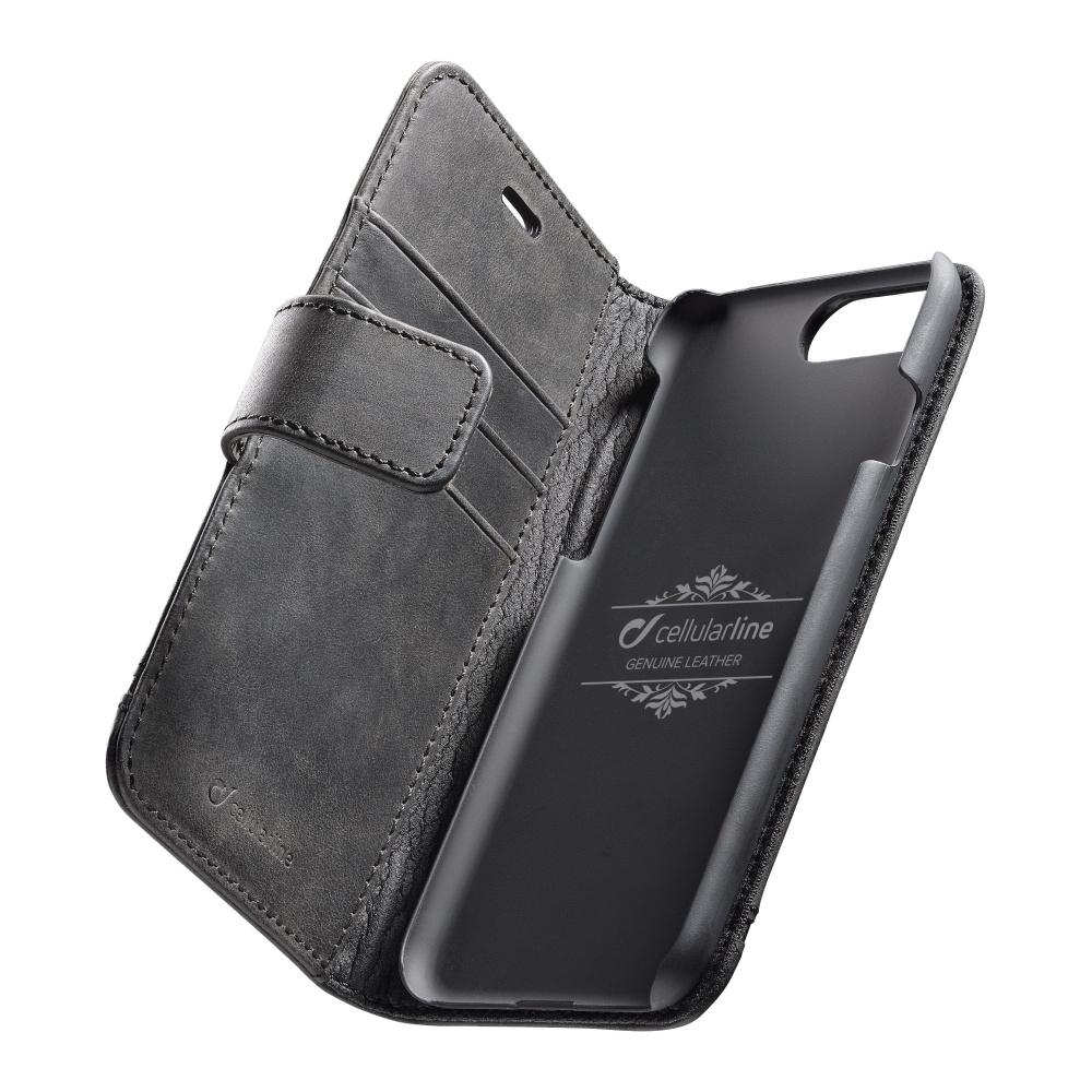 Cellularline Supreme pouzdro flip Apple iPhone 7 Plus/8 Plus black