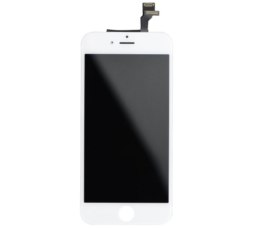 LCD display + pro Apple iPhone 6, white (OEM-AAA)