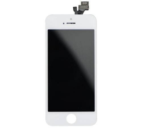 LCD + dotyková deska pro Apple iPhone 5S, white OEM