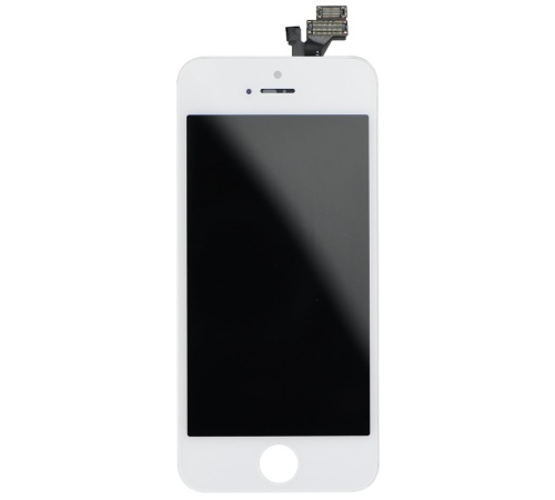LCD + dotyková deska pro Apple iPhone 5, white OEM