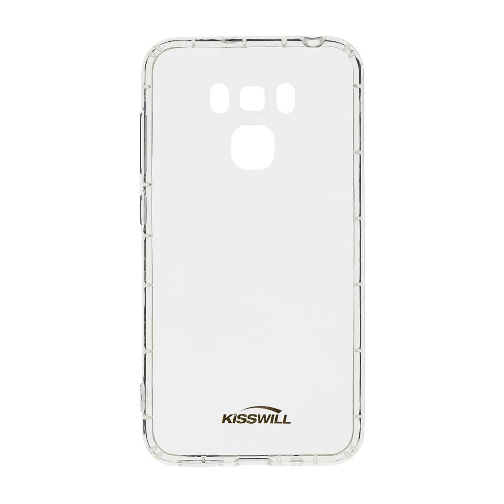 Kisswill Air silikonové pouzdro pro Asus ZC553KL, transparentní