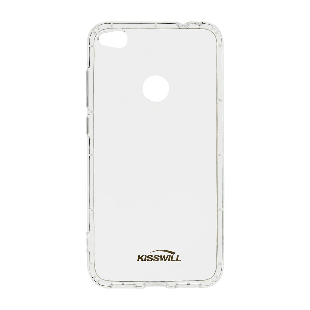 Kisswill Air silikonové pouzdro pro Huawei P8/P9 Lite 17, transparentní