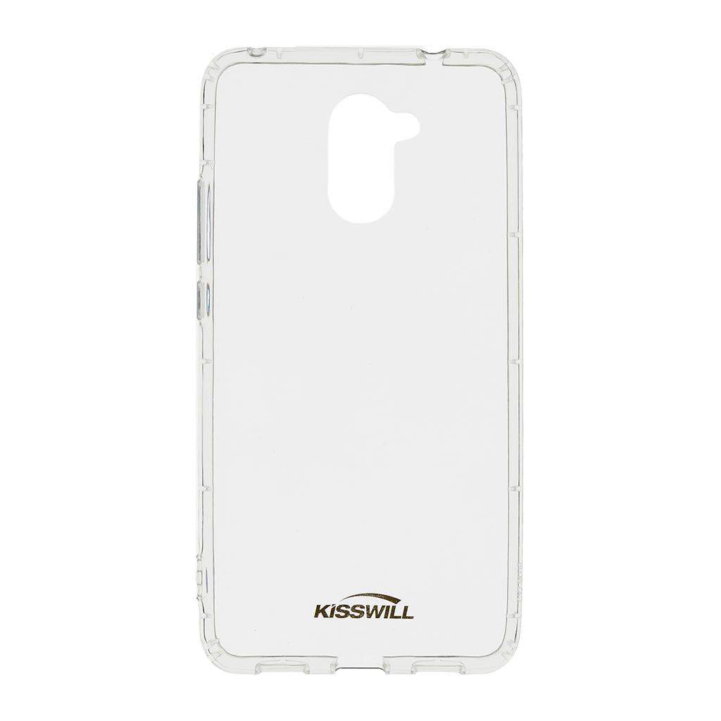 Kisswill Air silikonové pouzdro pro Huawei Y7, transparentní