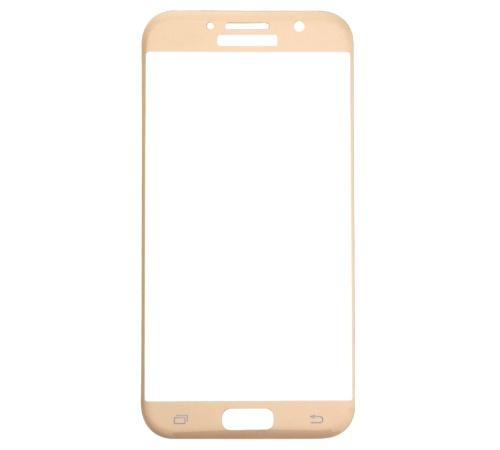 Tvrzené sklo Blue Star pro Samsung Galaxy A5 2017 zlaté celé tělo
