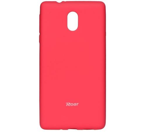 Pouzdro Roar Colorful Jelly Case pro Nokia 8, tmavě růžová