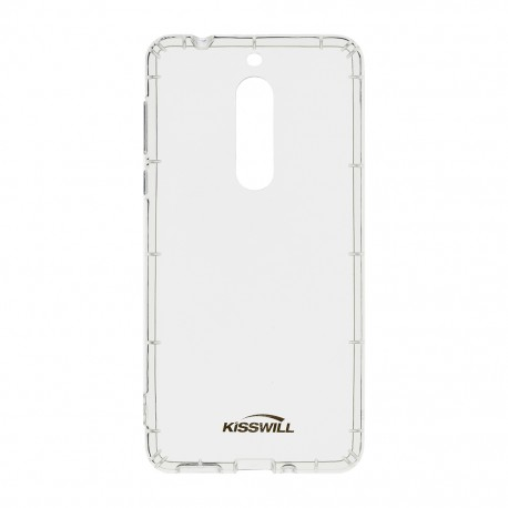Kisswill Air silikonové pouzdro pro Nokia 5, transparentní