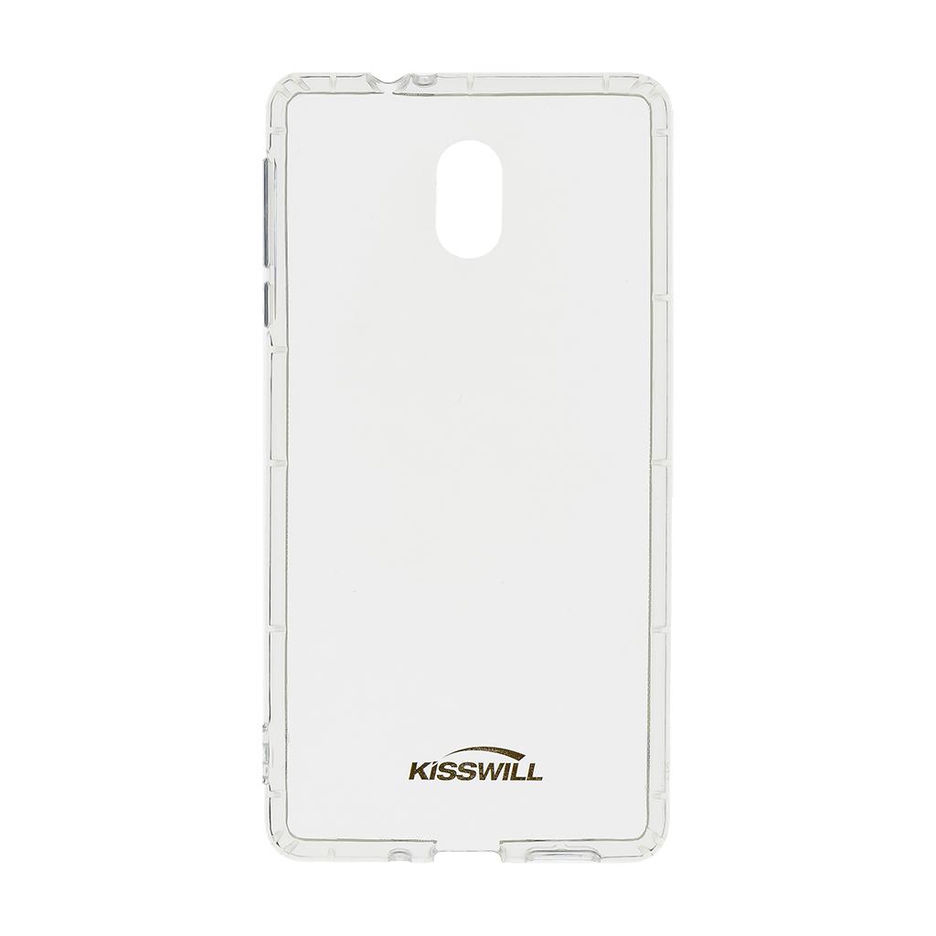 Kisswill Air silikonové pouzdro pro Nokia 3, transparentní