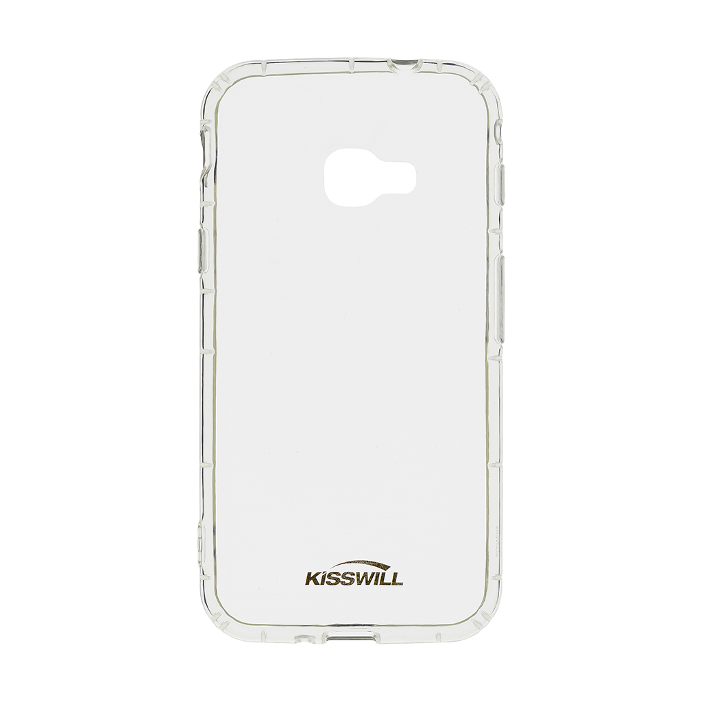 Kisswill Air silikonové pouzdro pro Samsung G390 XCover 4, transparentní