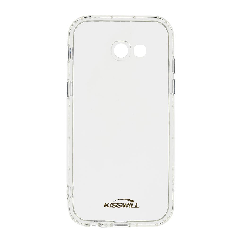 Kisswill Air silikonové pouzdro pro Samsung A520 A5 2017, transparentní