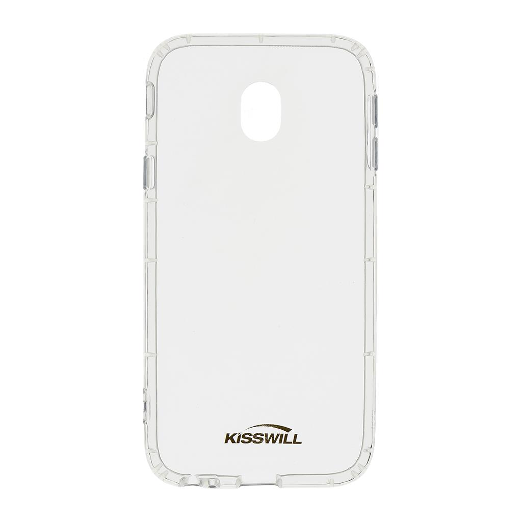 Kisswill Air silikonové pouzdro pro Samsung J730 J7 2017, transparentní